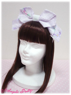AP Sugar Pansy Headbow