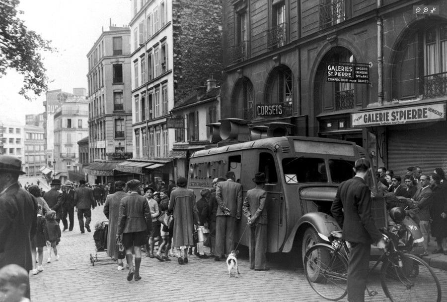 """Результат пошуку зображень за запитом """"Монмартр 1940"""""""