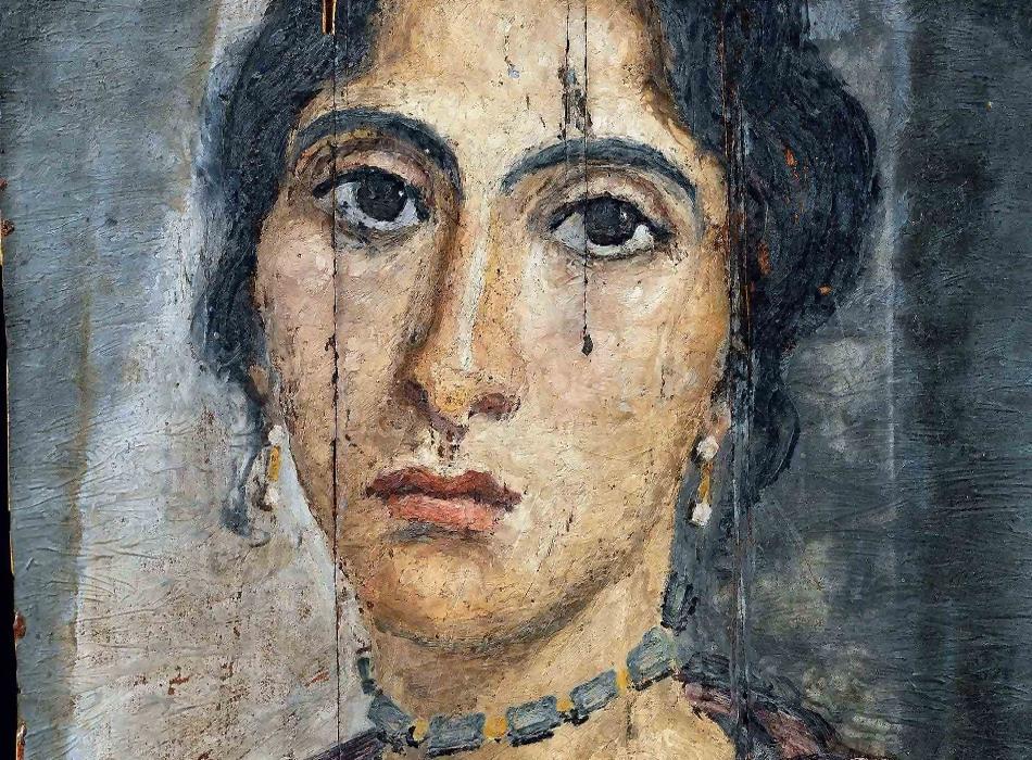 Самый старый портрет анфас?