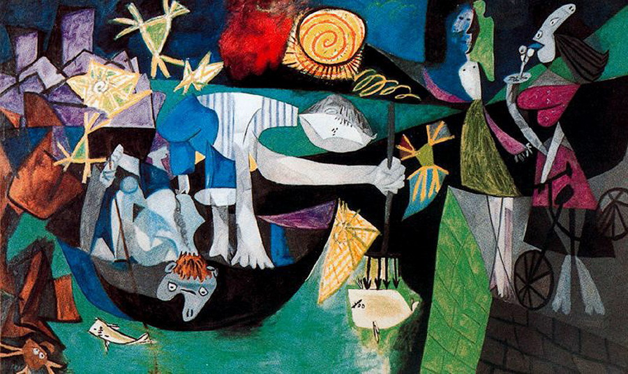 Picasso-Night-fishing