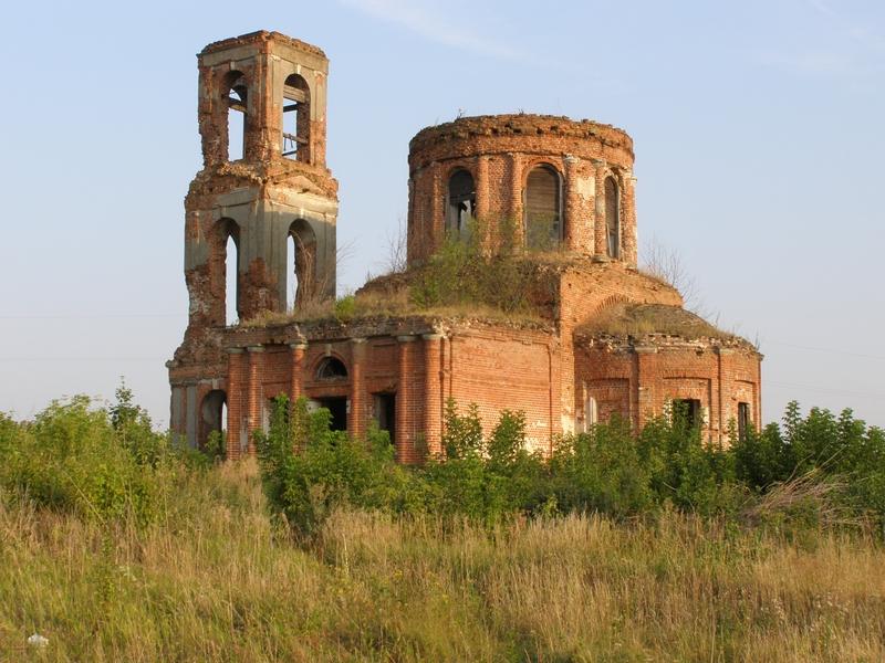 Никитский храм в Тютчево