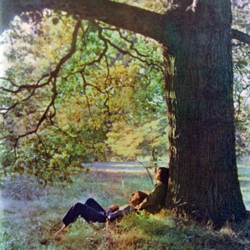 Обложка альбома John Lennon Plastic Ono Band