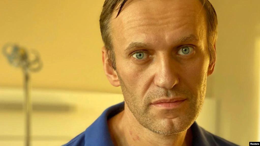 Алексей Навальный в берлинской клинике Шарите