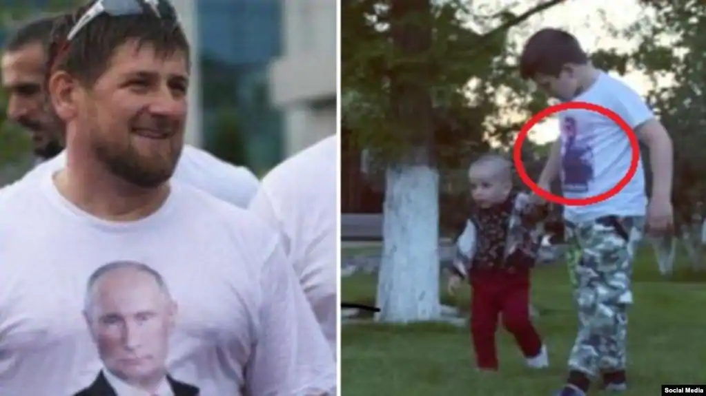 Рамзан Кадыров и его сыновья, архив