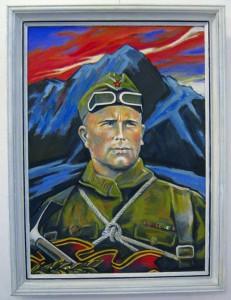 портрет Евгения Абалакова работа сына Алексея