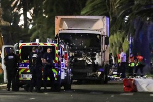 Теракт в Ницце вечер 14.07.2016