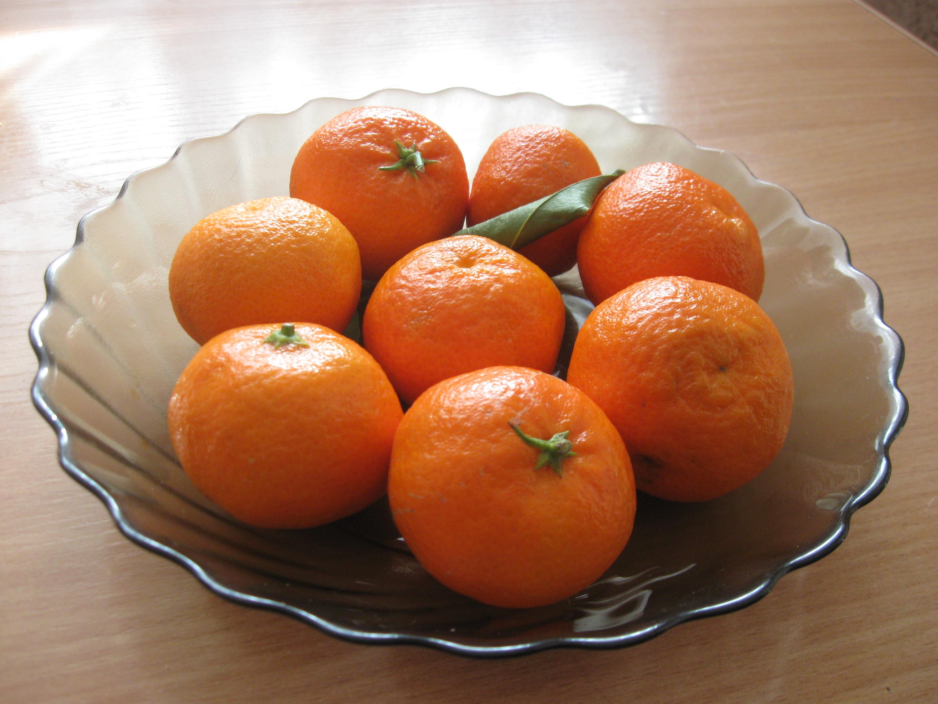 Свежие мандарины из Абхазии