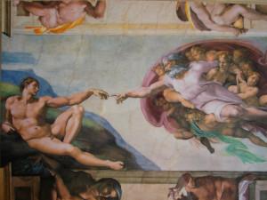 Человек и Бог Рафаэля