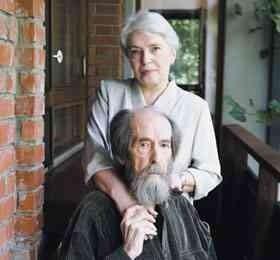 Солженицын и жена_1