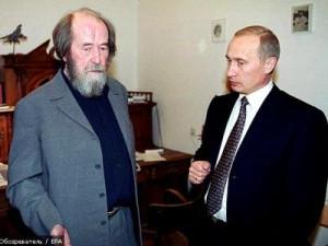 Солженицын и Путин_2000