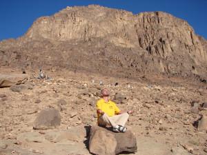 Моисей возле горы