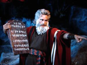 Моисей_10заповедей