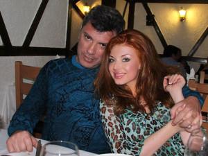 Борис Немцов и Анастасия Огнева