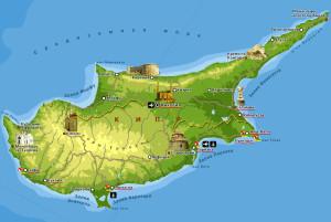 Кипр_карта
