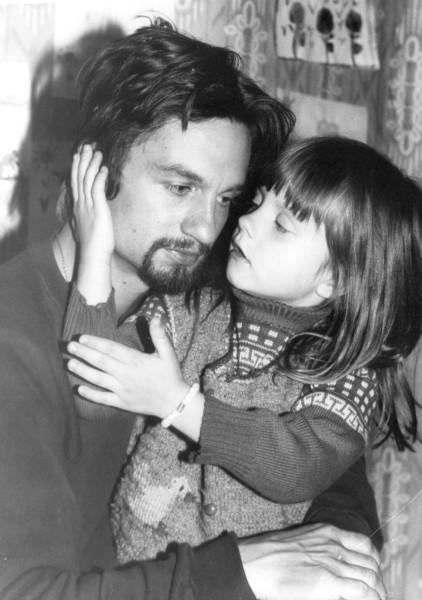 Алина и папа_1993
