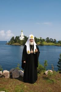 Патриарх Кирилл на Валааме_1