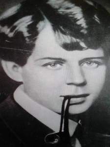 Есенин фото с трубкой