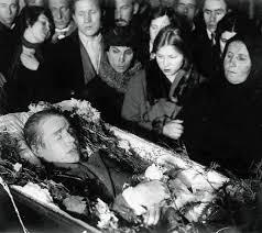 Есенин похороны