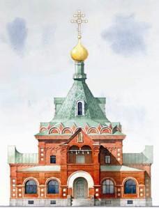 Церковь ССД_рисунок