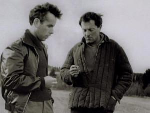 Бродский и Гордин в Норенской