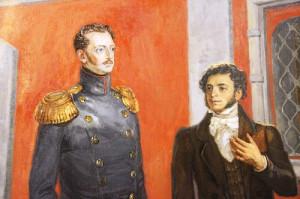Пушкин и Николай