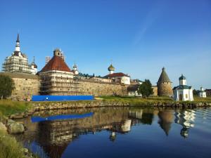 Монастырь с гавани