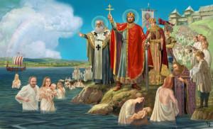 Крещение в Днепре