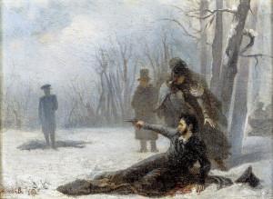 Пушкин дуэль картина 2