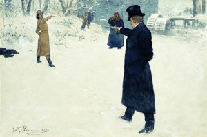 Пушкин дуэль