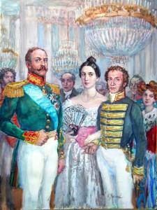 Пушкин камерюнкер с женой