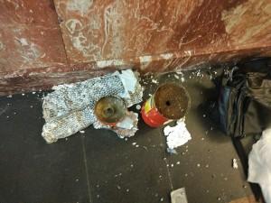 Бомба в метро
