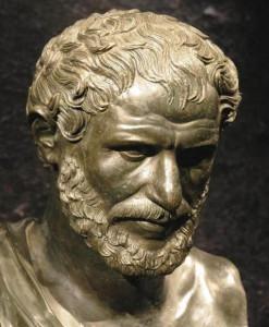 Гераклит бюст
