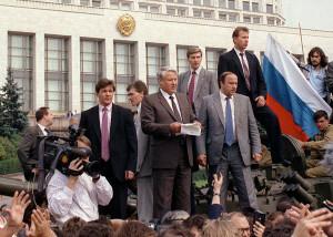 Ельцин 1991 год
