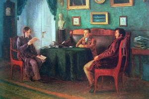 Гоголь и Жуковский