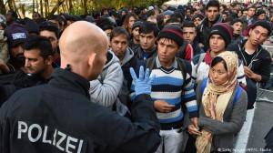 Беженцы и полиция