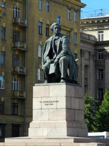 Чернышевский памятник
