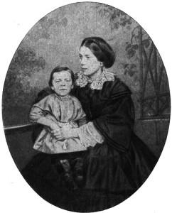 Чернышевская с сыном
