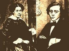 Чернышевский с женой