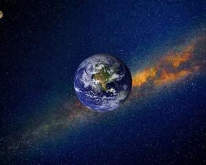 Земля - планета в космосе