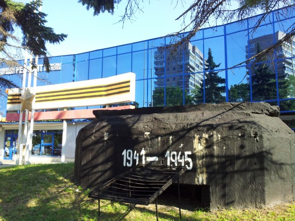 Дот обороны Ленинграда