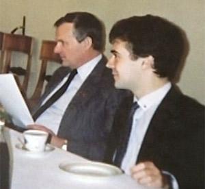 Собчак и Медведев