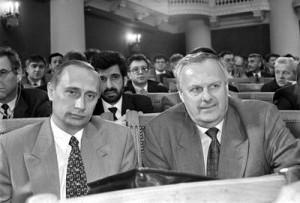 Собчак и Путин в Ленсовете