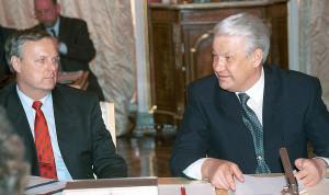 Собчак и Ельцин