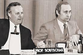 Собчак и Путин пресс