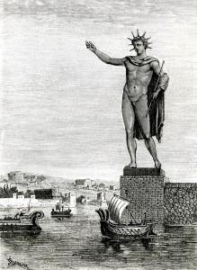 КОлосс Родосский древний
