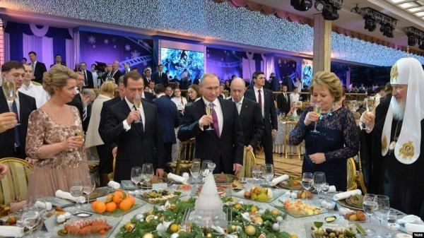 Банкет в Кремле