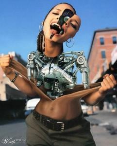 Постчеловек робот