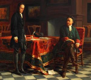 Пётр и Алексей картина