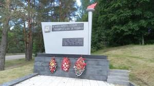 Лужский рубеж памятник