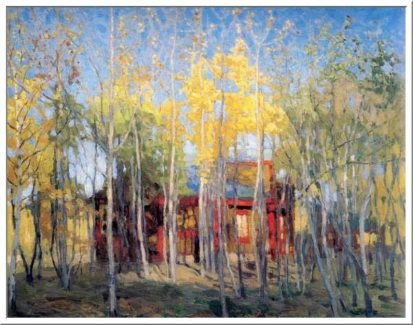 Деревья  Станислав Жуковский
